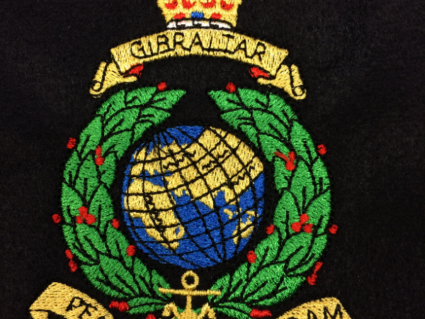 Royal Navy and Sea Cadet Embroidery 0039